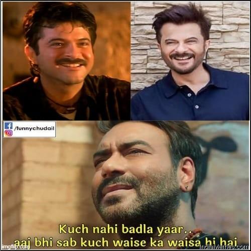 Anil kapoor Then vs Now Kuch nahi badla yaar meme.jpg