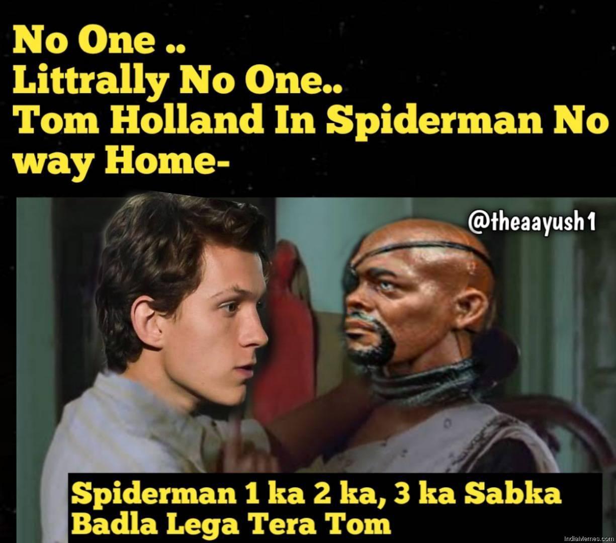 Spiderman 1 ka 2 ka 3 ka sabka badla lega tera tom meme.jpg